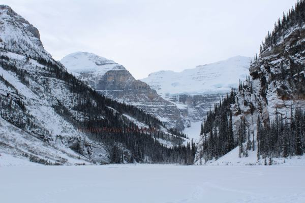 Rocky mountains and glaciers