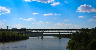 Bridge across Edmonton