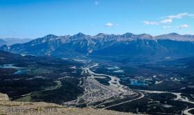 Jasper skytram peak